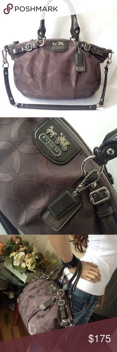 Spotted while shopping on Poshmark: Almost New Coach Madison Sophia Satchel Bag! #poshmark #fashion #shopping #style #Coach #Handbags
