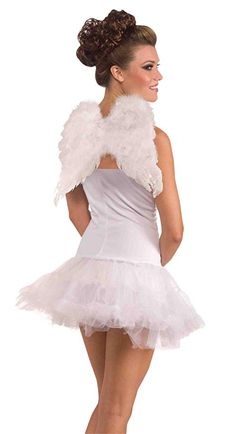 Forum Novelties Women s Adult Club Angel Feather Wings Costume Accessory a9b50d8fd