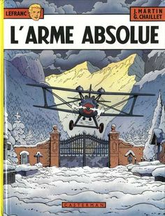 Lefranc -8- L'arme absolue  -  1982