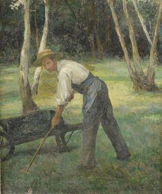 Ecole impressioniste    Le Jardinier