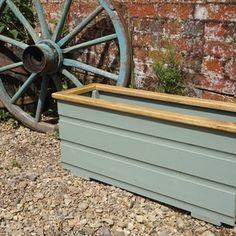 Rustic Wooden Farmhouse Garden Flower Planters   Etsy
