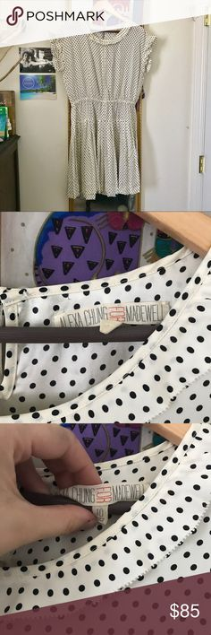 Alexa Chung for Madewell Dress Take a step back in time with this stunningly cute polka dot dress! Madewell Dresses Midi