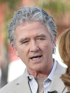 Patrick Duffy - Celebs Stop by the 'Extra' Set