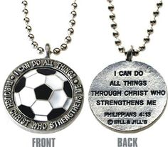 phil 4:13 and soccer