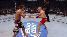 Rewind 2011: Now THAT'S a jab!!! GSP (21-2) makes his 6th title defense vs Jake Shields (26-4-1) snapping a 15 fight unbeaten streak that included Condit Daley Ruthless Mayhem and Hendo! Krav Maga Techniques, Martial Arts Techniques, Combat Training, Mma Training, Batman Training, Ufc Sport, Boxing Drills, Krav Maga Self Defense, Learn Krav Maga