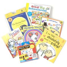 School Rules! - 6 great books available with book set or book of the month delivery. Celebrate the end of summer, or prepare your little one for the first day of school. $74, FREE SHIPPING.