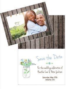 Save the Date - Barnwood   Plymouth Card Company