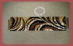 Peyote Beading Patterns, Beaded Bracelet Patterns, Bead Loom Patterns, Loom Beading, Jewelry Patterns, Beaded Braclets, Beaded Cuff Bracelet, Seed Bead Bracelets, Bead Weaving