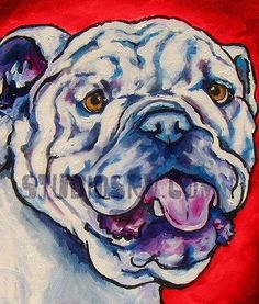 Hey, I found this really awesome Etsy listing at https://www.etsy.com/listing/67373469/english-bulldog-print-8x10