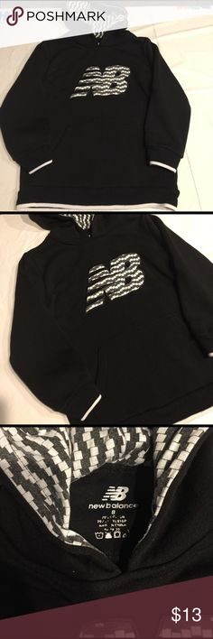New balance black boys sweater New balance black boys sweater size 8 no trades New Balance Jackets & Coats