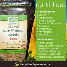 Health Benefits of Sunflower Seeds!