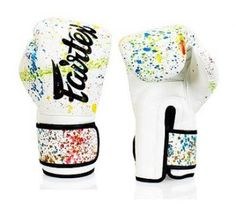 Boxing Gloves Graffiti Character MMA Tiger Muay Thai Fight Pad Fierce Sport Hand