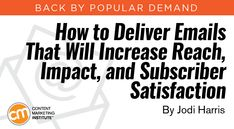 How to Make Your Email Marketing More Effective  ||  Improve your email content with these tips and examples to increase your reach, your impact, and your subscribers' satisfaction –Content Marketing Institute http://contentmarketinginstitute.com/2017/10/emails-reach-subscriber-satisfaction/?utm_campaign=crowdfire&utm_content=crowdfire&utm_medium=social&utm_source=pinterest