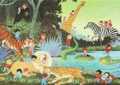 Gyo Fujikawa OH! WHAT A BUSY DAY! This was my favorite book when I was little.