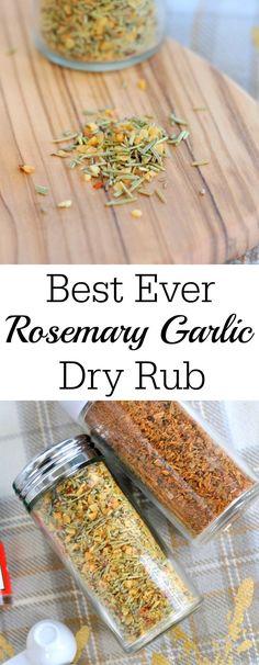 Best Ever Rosemary Garlic Rub - My Suburban Kitchen                                                                                                                                                                                 More