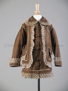 Child's dress, 1896-1899.