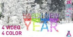 Happy New Year Background Pack