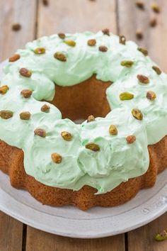 Pistachio Double Pudding Cake | Averie Cooks | Bloglovin'