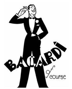 Bacardi waiter