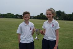 Overall winners (House Captains) at the Years 7 and 8 Sports Day