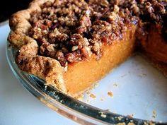 sweet potato praline pie   Also planning a sweet potato praline pie for Thanksgiving festivities ...