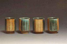 Dog Bar Pottery - Faceted Tea Bowls