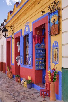 Colorful Storefront - Mexico