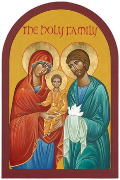 Holy Family Icon - Year for Marriage and Family