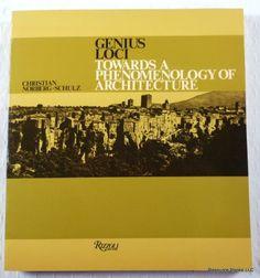 Genius Loci: Towards a Phenomenology of Architecture by C... http://www.amazon.com/dp/0847802876/ref=cm_sw_r_pi_dp_iZlmxb0RAKQ2A