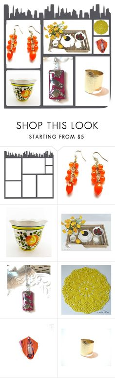 """""""Hot Town, Summer in the City"""" by whimzingers ❤ liked on Polyvore featuring vintage"""