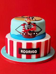 sabores da gula - birthday - birthday cake - pirate cake