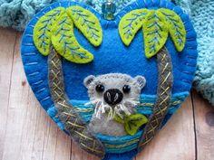 River Otter Ornament by SandhraLee on Etsy