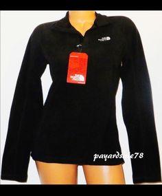 38c6ddbfd2af4 Women s size 2xl xxl the north face black fleece 1 4 zip pullover sprint  jacket