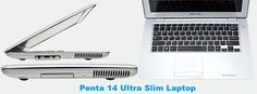 Penta 14 Ultra Slim Laptop Specifications and Price in India