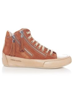 Candice Cooper Lucia Suede Mid-Top Trainers