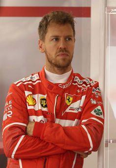 Sebastian Vettel Scuderia Ferrari SF70-H