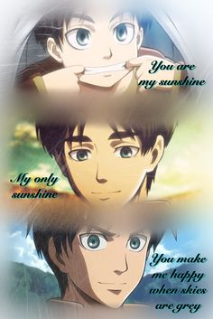 You Are My Sunshine Eren Jaeger from Attack on Titan