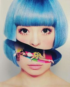 We are dedicated accessory junkies traveling the world on wild treasure hunts to discover and promote emerging pioneers in fashion art design Kyary Pamyu Pamyu, Magdiel Lopez, Arte Pop, Japanese Street Fashion, Creative Portraits, Doll Face, Pastel Goth, Colorful Fashion, Art Reference