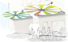 The Skycycle Parasol Adjusts is Exposure to Complement Conditions #backyard trendhunter.com