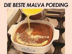 Die Beste Malva Poeding Oven Chicken Recipes, Dutch Oven Recipes, Jamaican Recipes, Curry Recipes, Salted Caramel Fudge, Salted Caramels, South African Recipes, Ethnic Recipes, Malva Pudding