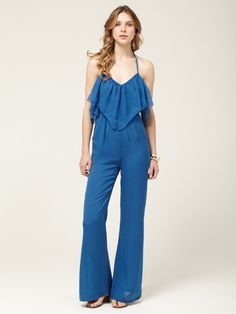 One day i can pull this off?  Woven Balboa Jumpsuit by 6 Shore Rd. on Gilt.