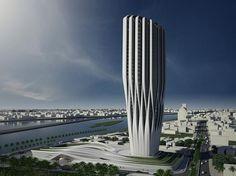 iraqi parliament in baghdad. zaha hadid architects. on the drawing board.
