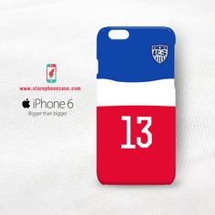 World Cup Usa Alex Morgan 13 iPhone 6 6S Cover Case
