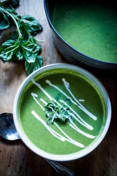 Quick Healthy Luscious Zucchini Basil Soup, can be made in 20 minutes flat! | www.feastingathome.com