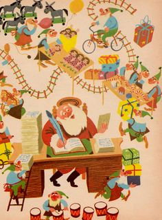 The Wonder Book of Christmas illustrated by Lou Myers