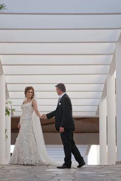 Wedding moments @kefalos Kefalos Beach, Lace Wedding, Wedding Dresses, Beach Weddings, Wedding Moments, In This Moment, Fashion, Bride Dresses, Weddings At The Beach
