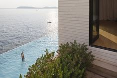 Modern Private Residence: V2 House by 3LHD ArchitectsSituated in Dubrovnik, Croatia, this modern two-storeyprivate residencewas recently designed by3LHD Architects.For convenience, the entrance i... Architecture Check more at http://rusticnordic.com/modern-private-residence-v2-house-by-3lhd-architects/