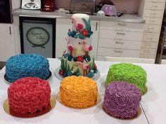 Arco iris de tartas