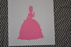 Hand Cut Disney Princess Silhouettes by CeramicElephant on Etsy, $12.00