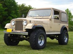 Late Jeep CJ-7. Grew up with one and still love 'em.